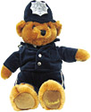 Harrods Collection England Policeman, 16  Soft Toy Bear