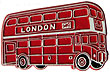 London DD Bus - Magnet