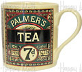 Palmers Tea Mug, Cream Color