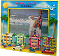 Miami Beach, Florida Souvenir Photo Frame