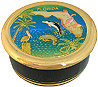 Chokin Jewelry Box (LG) - Florida State Map