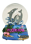 Florida - Musical Snow Globe, 5.5H