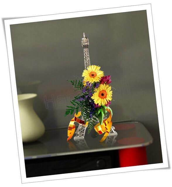 Eiffel tower decor parisian themed decoration ideas for Art and decoration france