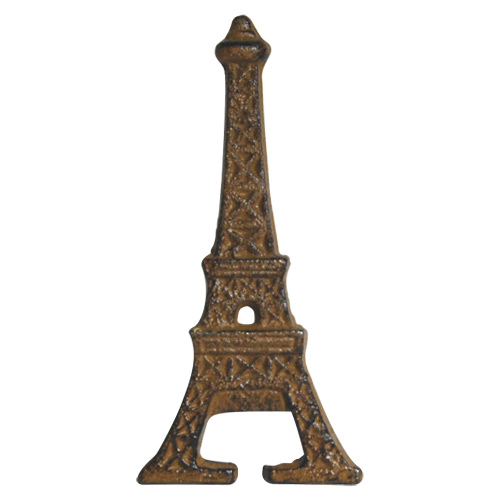 eiffel tower bottle opener rusted cast iron. Black Bedroom Furniture Sets. Home Design Ideas