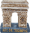 Arc De Triomphe Miniature Figure