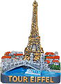 Tour Eiffel Miniature Figure