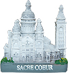 Sacre Coeur, Paris Miniature Figure