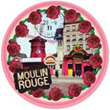 Moulin Rouge, Vintage Photo-Like Magnet