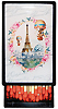 Vintage Eiffel Tower Little Lacquer Slide Box