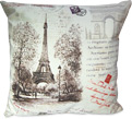 Decorative French Pillows - Eiffel Tower Themed