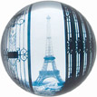 Chic French Style Paperweight - Eiffel Tower View