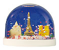 Paris Monuments Snow Globe, Small