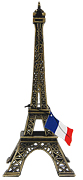 10  Eiffel Tower Miniature Replica, Antique Gold