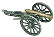 Miniature Civil War Cannon, Length: 7