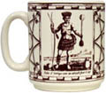 Traite du Cafe Mug - Indian