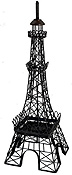 25  Eiffel Tower Statue - Candle Holder