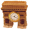 Arc De Triomphe Model - Table Clock