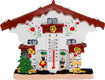 Traditional German House - Fridge Magnet w/ Thermometer