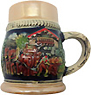 German Beer Stein Magnet-Beer Harvest