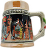 German Beer Stein Magnet-German Village