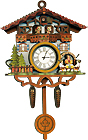 Biergarten Cuckoo Clock Fridge Magnet