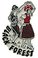 Black Forest Folklore Dancers - Fridge Magnet