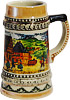 Miniature Beer Stein - Village Dancers