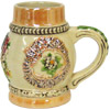 Miniature Beer Stein - Alpine Flowers