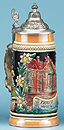 Munich Beer Stein, 9 H