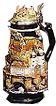 Heidelberg Commemorative Beer Stein, 10 H