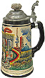 Berlin Capital Beer Stein, 8-1/2 H