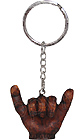 Hang Loose Hapa Wood Keychain