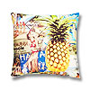 Aloha Throw Pillow - Chi-Chi Hawaii Art, 20x20