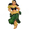 Hawaiian Hula Dancer Fridge Magnet