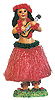 Hula Girl Doll with Ukulele