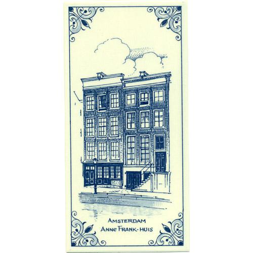Anne Frank Huis Dutch Delft Tile 7 75 Quot