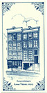Anne Frank Huis, Dutch Delft Tile 7.75
