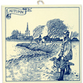6  Dutch Tile - Autumn Scene