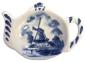 Delft Blue - Holland Windmill Tea Bag Tidy