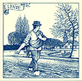 6  Dutch Tile - Lente Scene