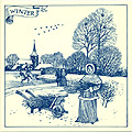 6 Dutch Tile - Winter Scene