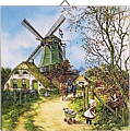 Dutch Tile, Color 4 Seasons - Summer