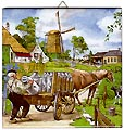 Dutch Tile, Color Milkman, 6