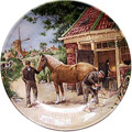 Color Decorative Plate - Blacksmith 9.5D