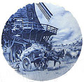 Delft Blue Decorative Plate - Miller 9.5 D