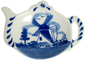 Delft Blue - Windmill Tea Bag Tidy