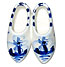 2  Ceramic Clog Shoes, Refrigerator Magnet