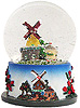Dutch Windmill Snow Globe, 3.5 H