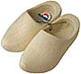 Plain Wooden Clog Shoes, Adult's Size 9-10