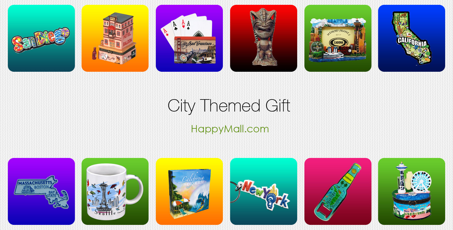 City Themed Gift